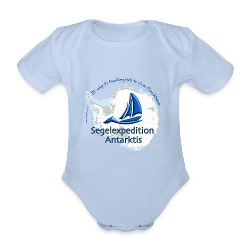 segelexpedition antarktis3 - Baby Bio-Kurzarm-Body