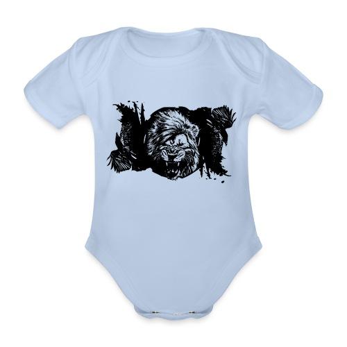 Raven & lion - Body Bébé bio manches courtes
