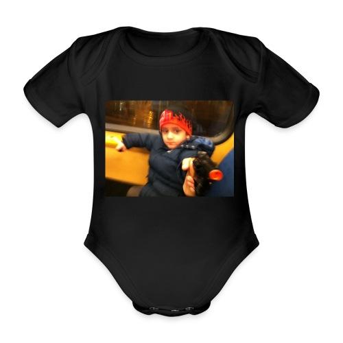 Rojbin gesbin - Ekologisk kortärmad babybody