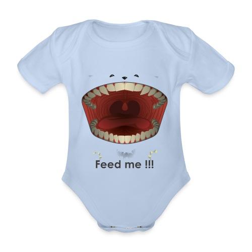 Feed me - Body Bébé bio manches courtes