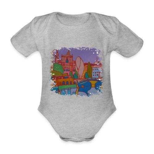 Ljubljana - Baby Bio-Kurzarm-Body