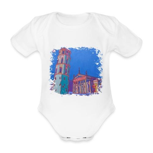 Vilnius - Baby Bio-Kurzarm-Body