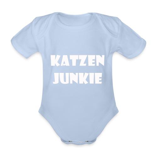 Katzen Junkie 2 - Baby Bio-Kurzarm-Body