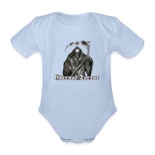 ET logo 13 reaper png - Økologisk kortermet baby-body