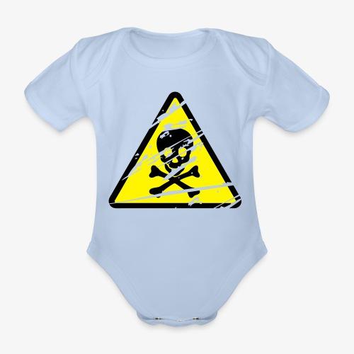 Toxic - Grunge - Organic Short-sleeved Baby Bodysuit