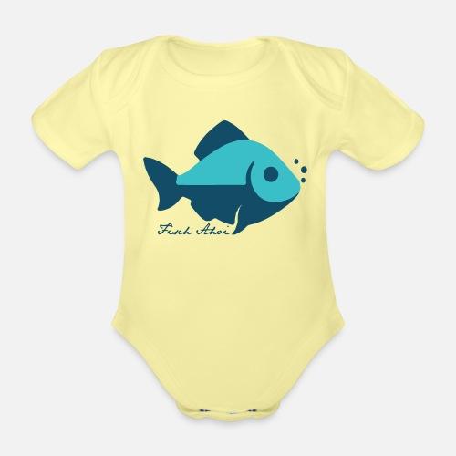 Fisch Ahoi - Baby Bio-Kurzarm-Body