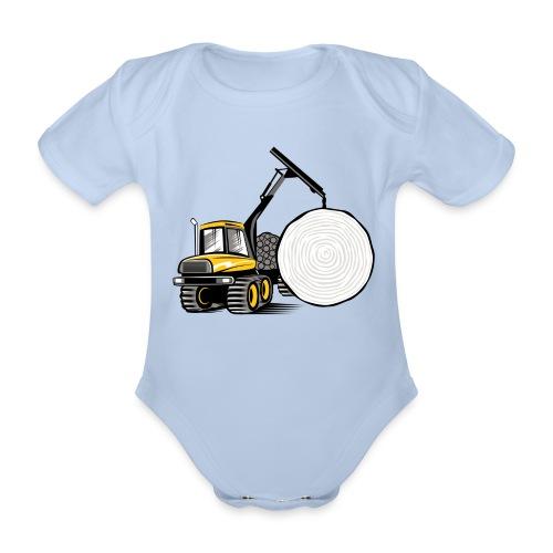 Kuormatraktori t paidat, hupparit, lahjatuotteet - Vauvan lyhythihainen luomu-body