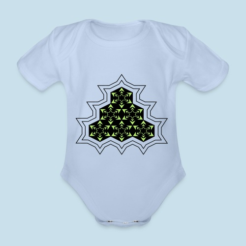 Stern - Baby Bio-Kurzarm-Body