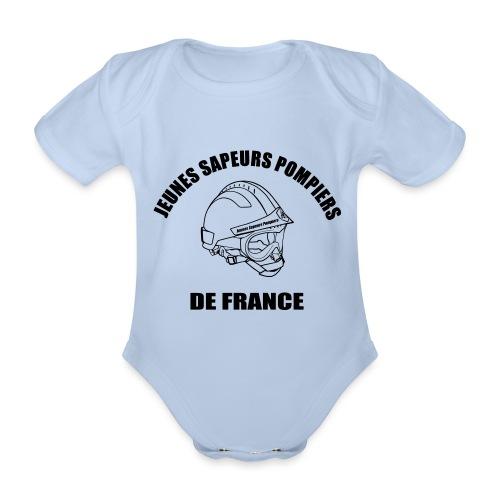 Jeunes Sapeurs Pompiers de France - Body Bébé bio manches courtes