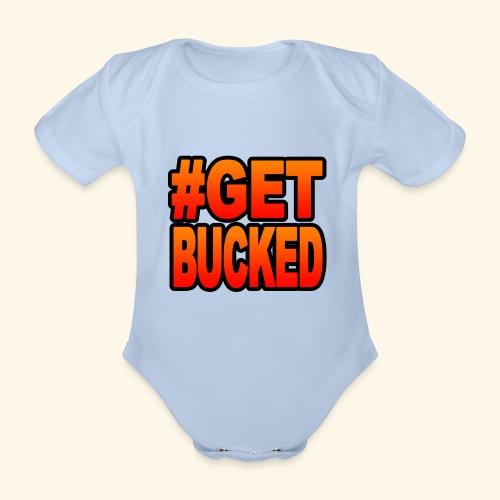 GetBucked - Organic Short-sleeved Baby Bodysuit