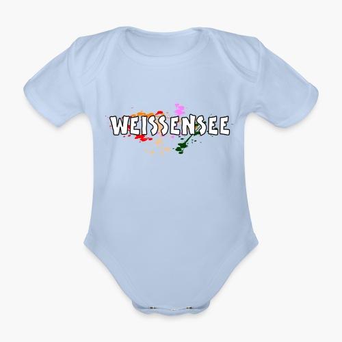 Weissensee - Baby Bio-Kurzarm-Body