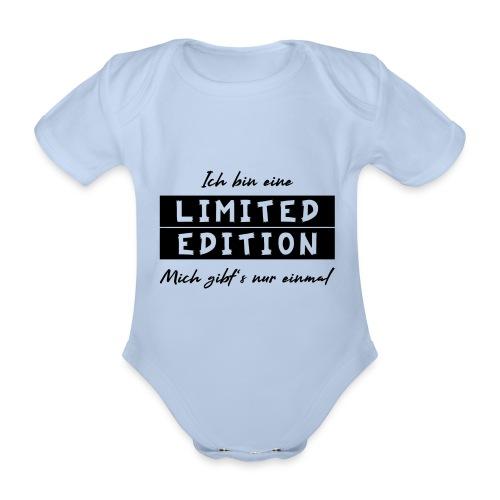 ich bin eine limit edition - Baby Bio-Kurzarm-Body