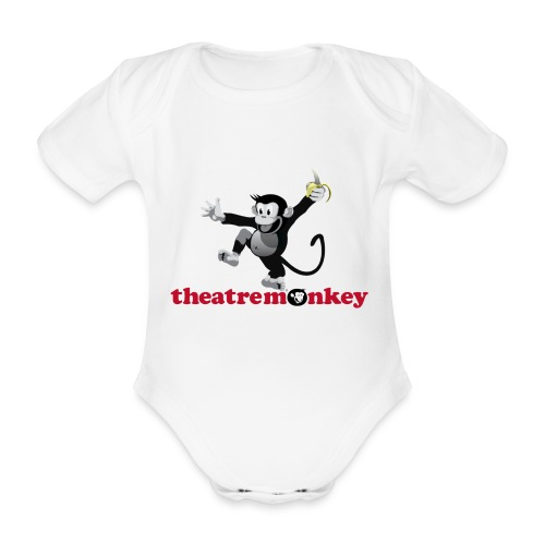 Sammy with Jazz Hands! - Organic Short-sleeved Baby Bodysuit
