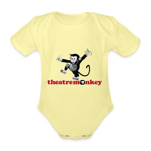 Sammy with Jazz Hands! - Organic Short-sleeved Baby Bodysuit
