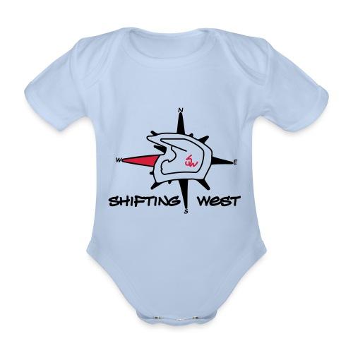 Shifting West Logo vector - Baby bio-rompertje met korte mouwen
