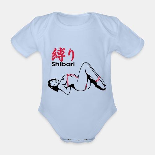 bound Shibari 2col - Baby Bio-Kurzarm-Body