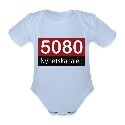 5080 nyhetskanalen logo - Økologisk kortermet baby-body