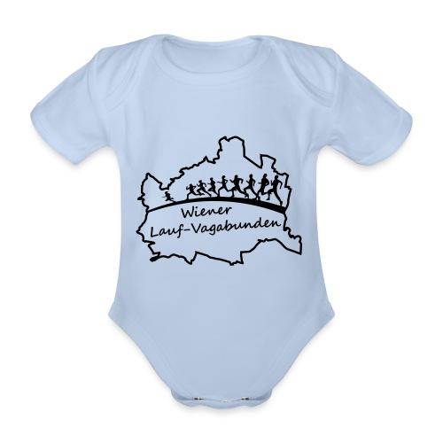 Laufvagabunden T Shirt - Baby Bio-Kurzarm-Body