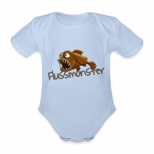 Flussmonster - Baby Bio-Kurzarm-Body