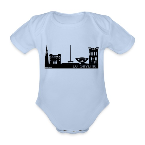 Lu skyline de Terni - Body ecologico per neonato a manica corta