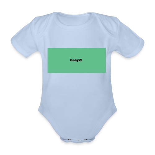 Cody52 Backpack - Organic Short-sleeved Baby Bodysuit