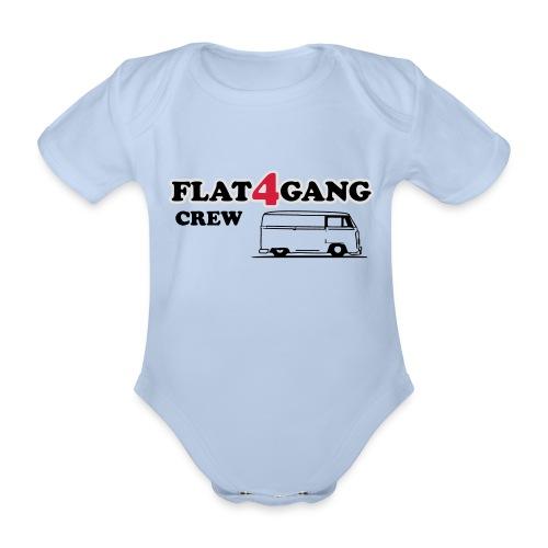 f4g crew - Baby bio-rompertje met korte mouwen