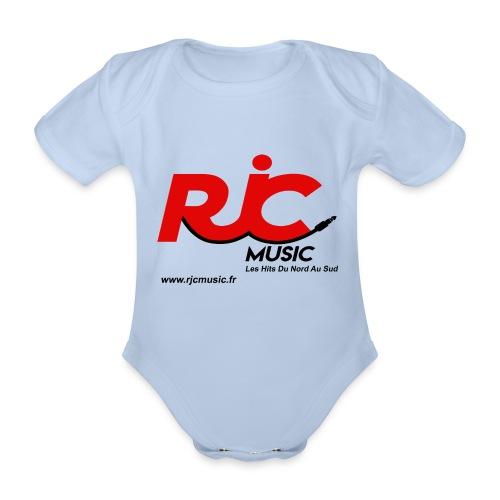RJC Music avec site - Body Bébé bio manches courtes