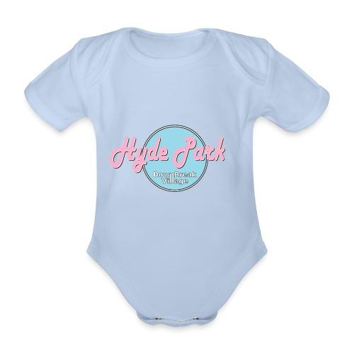 HydePark BabyBlue - Baby Bio-Kurzarm-Body