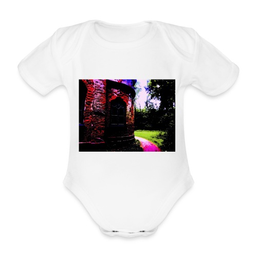 POP - Organic Short-sleeved Baby Bodysuit