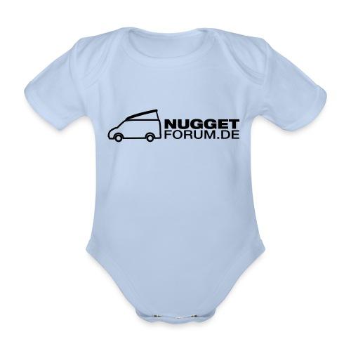 Nuggetforum Aufkleber Auf - Baby Bio-Kurzarm-Body