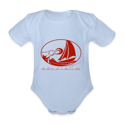 fortgeblasen - Aus Lust zur See - Baby Bio-Kurzarm-Body