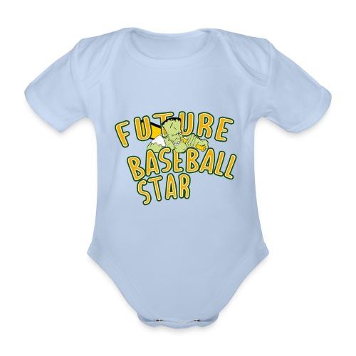 Future Baseball Star - Baby Bio-Kurzarm-Body