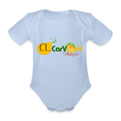 CarVlouV - Body orgánico de maga corta para bebé