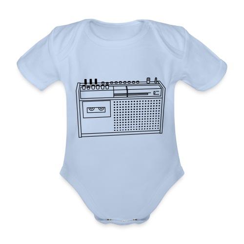 Rekorder R160 - Baby Bio-Kurzarm-Body