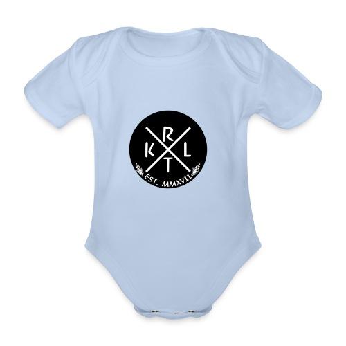 KRTL Original Brand - Baby bio-rompertje met korte mouwen