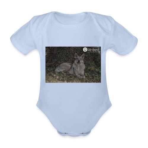 La Tanière des Chiens-Loups - Body bébé bio manches courtes