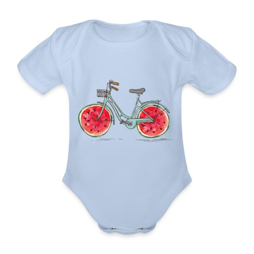 Bikemelon - Body orgánico de manga corta para bebé