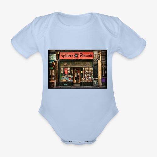 Spillers Records Shop - Organic Short-sleeved Baby Bodysuit