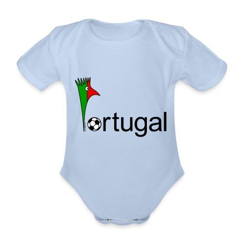 Galoloco Portugal 1 - Organic Short-sleeved Baby Bodysuit