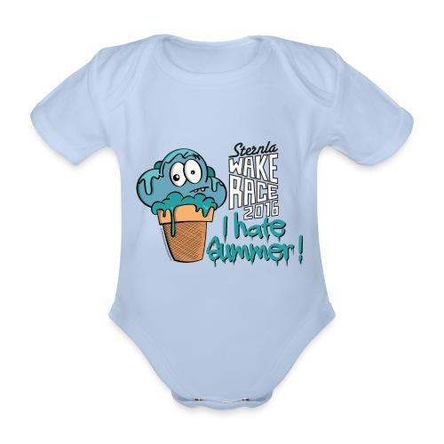 ihatesummerCS52016 - Baby Bio-Kurzarm-Body