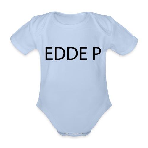EDDE P - Ekologisk kortärmad babybody