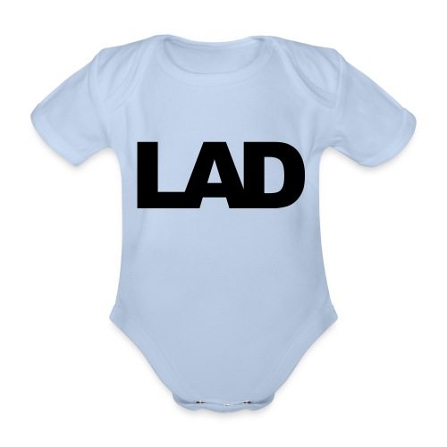 lad - Organic Short-sleeved Baby Bodysuit