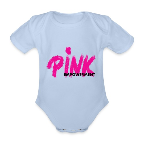 Pink Empowerment - Baby Bio-Kurzarm-Body