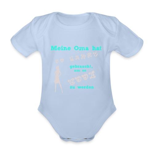 MeineOma50Mädchen png - Baby Bio-Kurzarm-Body