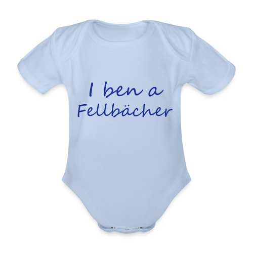 Fellbaecher - Baby Bio-Kurzarm-Body
