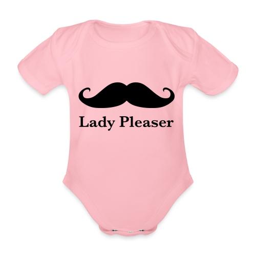 Lady Pleaser T-Shirt in Green - Organic Short-sleeved Baby Bodysuit