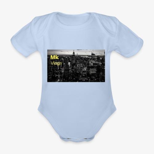 MK VLOGS 9 - Organic Short-sleeved Baby Bodysuit