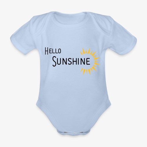 Hello Sunshine - Baby Bio-Kurzarm-Body