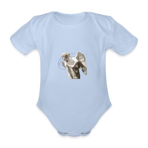 Angelo custode 1 - Body ecologico per neonato a manica corta
