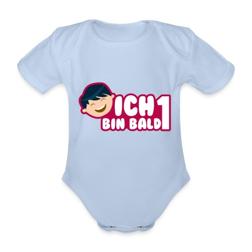 Ich bin bald 1 - Baby Bio-Kurzarm-Body